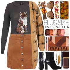 A fashion look from September 2016 by gorgeautiful featuring Rebecca Minkoff, Michael Kors, Casetify, NARS Cosmetics, NYX, Tom Ford, plussize and Fall2016