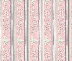 Louis XVI Border ~ Dauphine fabric by peacoquettedesigns on Spoonflower - custom fabric Rococo, Baroque, Selling Design, Louis Xvi, Image Shows, Pattern Wallpaper, Custom Fabric, Spoonflower, Craft Projects