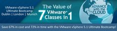 VMware vSphere 5.1 Ultimate Bootcamp - Get the value & knowledge of 7 VMware courses in 1 and become a professional certified Virtualization expert - with internationally industry recognized certification!  The vendor-neutral certification, along with the 750+ page course manual and over 50 labs, means that participants will finish the week able for employment in any major virtual platform provider or data-center. Classroom Training, Online Classroom, Cloud Computing, Training Programs, Software Development, Labs, Manual, How To Become, Neutral