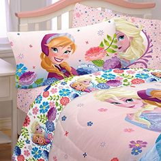 Kids' Sheet Sets - Disney Frozen Full Sheet Set >>> Find out more about the great product at the image link.