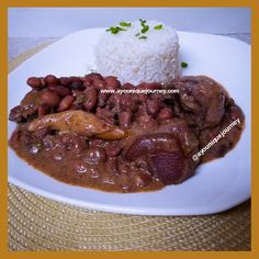 Jamaican Stew Peas: An Authentic Comfort Food Pea Recipes, Pastry Recipes, Fish Recipes, Crockpot Recipes, Cooking Recipes, Jamaican Stew Peas, Jamaican Dishes, Jamaican Curry, Stew Peas Recipe