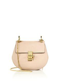 ea0390ad5369 Chloe Drew Small Leather Saddle Crossbody Bag from Saks Fifth Avenue -  Styhunt