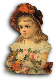 Victorian scrap: Girl | Flickr - Photo Sharing!