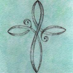 Cross Infinity Tattoos Faith Cross Tattoos and Cross Tattoo Designs 16 Tattoo, Tatoo Henna, Tatoo Art, Get A Tattoo, Tattoo Quotes, Tattoo Bird, Tattoo Fonts, Buffy Tattoo, Tattoo Forearm