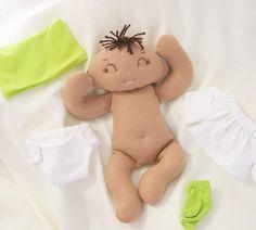 Custom order finished and approved!! Meet baby Lorenzo. #handmadedoll #feltdoll…