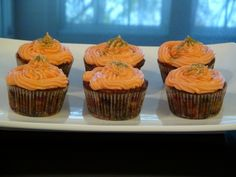 Moist Carrot Cupcakes made with Crushed Pineapple | She's Got Flavor