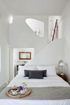 Jurnal de design interior - Amenajări interioare : Native Eco Villa în Imerovigli, Santorini