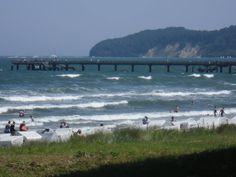 Am Strand von Binz