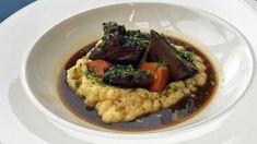 Langtidskokt oksekjøtt med potetmos Crockpot, Slow Cooker, Beef, Cooking, Food, Meat, Kitchen, Cuisine, Koken