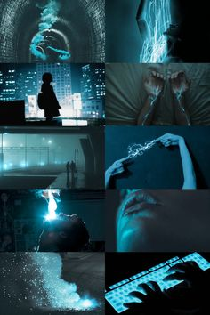 "ichor-veins: ""Urban Magic Aesthetic – Blue """