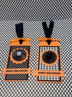 Halloween Tags Halloween Embellishments by MyPrettyPaperGifts, $3.95