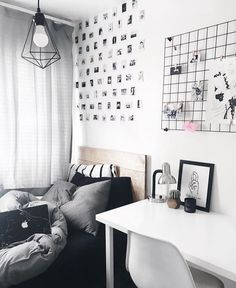 WEBSTA @ theworkspacestylist - Workspacie Inspo and Image Regram thanks to Interior Design Student Thanks for tagging us we love your workspace style! Tumblr Bedroom, Tumblr Rooms, My New Room, My Room, Dorm Room, Diy Room Decor, Bedroom Decor, Home Decor, Bedroom Ideas