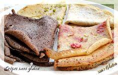 Une sélection de #crêpes, pancakes..., sans #gluten.