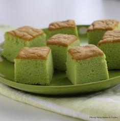 Phong Hong Bakes and Cooks! Asian Desserts, Asian Recipes, Ogura Cake, Pandan Cake, Cotton Cake, Tall Cakes, Food Obsession, Cake Recipes, Yummy Recipes