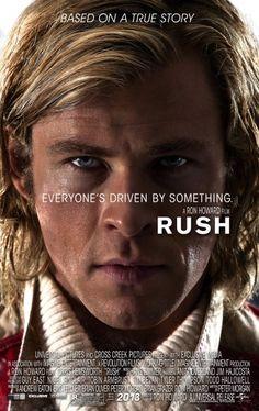 """Rush""    Starring  Chris Hemsworth, Daniel Brühl, Natalie Dormer and Olivia Wilde. Directed by Ron Howard."