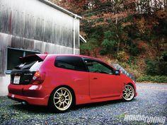 2005 Honda Civic Js Racing CFRP Trunk