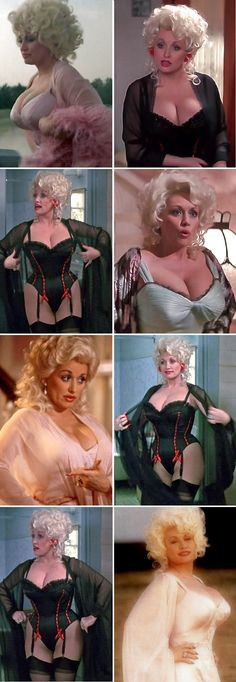 "Dolly Parton in movie ""The Best Little Whorehouse in Texas"" (1982)"