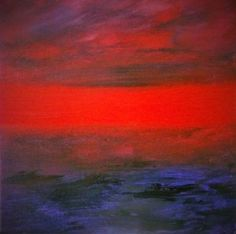 ARTFINDER: Light and Dark by Amanda Barden - An emotional portrayal of how both the light and the darkness feels to me. I've only used two colours in this painting: purple and red. Acrylic on canvas. Art Paintings For Sale, Modern Art Paintings, Abstract Paintings, Traditional Artwork, Online Art Gallery, Light In The Dark, Amanda, Original Art, Colours