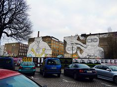 Berlin, Kreuzberg. I have my own pictures of this!