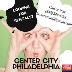 Let me help you to find your perfect place!! If you are looking to rent in Center City or Philadelphia area. We have of hundreds of options.  Call or text (845) 544-4735  Javieremail1@gmail.com  #centercityphilly #centercity #rittenhousesquare #philadelphiaflyers #philadelphiaeagles #oldcity #philly #graduatehospital #filtersquare #societyhill #rentals #rents #condos #luxurylife #fff #upenn #wharton #realestate #lfl #love #friends #photography #house #thebestrealtorinphilly…