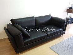 Leather 3-Seater Sofa - Max2620