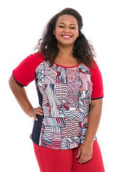 A piros-kék-krém kombinációja a nyaralás hangulatát idézi és a vízparti sétákat. A szabott oldalrész nyújtja és slankítja az alakot. Raglán ujjas, csípőt takaró hosszával egy szűkebb fazonú nadrággal is csinos. Kellemes alapanyaga övvel is megnyerő viseletet fog biztosítani. Women, Fashion, Moda, Fashion Styles, Fashion Illustrations, Woman