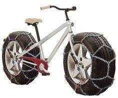 VANMOOF winter bike: off da chain!