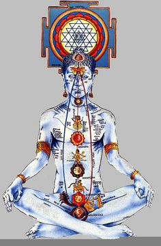 Yoga Life: Opening Up the Central Channel (Buddhist Tantra) Meditation Art, Chakra Meditation, Guided Meditation, Les Chakras, Seven Chakras, Yoga Chakras, Yoga Mantras, Chakra Art, Chakra Healing