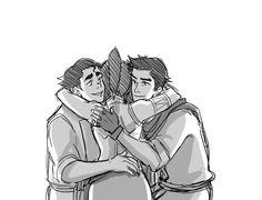 Bolin, Korra & Mako