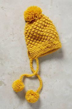 Pom Pom Trapper Hat /
