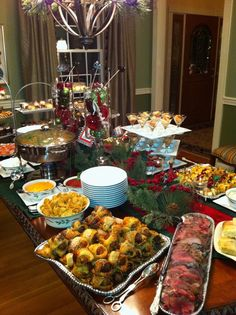 Holiday Home Party #christmas #catering #HollysEventful #Knoxville