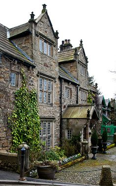 Corbridge Village, Northumberland, UK.  My favorite Tea Room was here and we loved spending afternoons there!