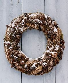 For creating wreaths for fall and winter decorating collect evergreen branches or purchase a grapevine wreath in the middle or large size for your wall, window or door decoration. Description from decor4all.com. I searched for this on bing.com/images