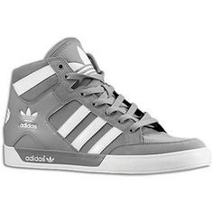 Adidas Originals Hard Court HI. Love these kinds of shoes even though they're men's, they're super comfortable!
