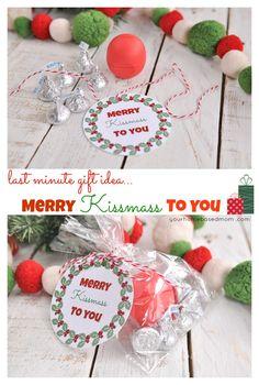 Merry Kissmass to You - Last Minute Gift Idea!