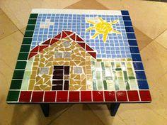 Bel Oliveira Mosaicos: Meus Trabalhos - Decoração Infantil - Quadros, cadeirinhas e banquinhos