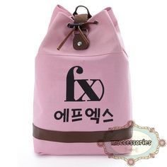 f(x)帆布索带背囊 Canvas Straps Backpack Material : Canvas Height : ~45 cm Thickness :~14 cm Bottom :~30 cm