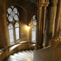 The richness, mystery and imposing grandeur of Municipal Gothic — at Manchester Town Hall, designed by Alfred Waterhouse and inaugurated in or just Manchester Town Hall, Manchester England, Gothic Architecture, Mystery, Victorian, Photo And Video, Instagram, Design