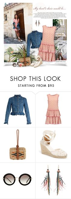 """Desire Of Heart"" by thewondersoffashion ❤ liked on Polyvore featuring J.W. Anderson, RED Valentino, Soludos, Miu Miu and Etro"