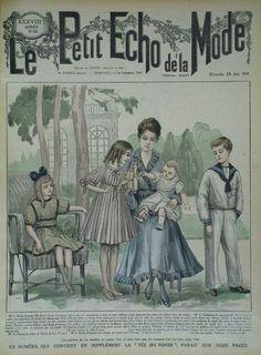 Le petit écho de la mode, 1916