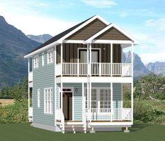 16x30 Tiny House -- #16X30H12C -- 873 sq ft - Excellent Floor Plans