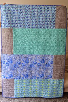 Crib Quilts, Scrappy Quilts, Easy Quilts, Mini Quilts, Backing A Quilt, Quilt Boarders, Quilt Blocks, Quilting Tutorials, Quilting Projects
