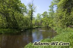 #troutfishing Big Roche-A-Cri Trout Stream is located in Adams County Wisconsin here you can find Info, Maps, Photos, Aerial Images plus Area Information like nearby Lakes, Public Land, Townships and communities. #adamscountywi