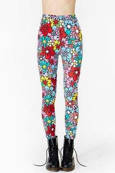SUPER love these. Flower Patch Leggings
