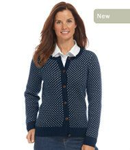 Coveside Sweater, Button-Front Cardigan Birdseye