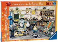 Ravensburger Crazy Cats In The Potting Shed 500 Piece Puz... https://www.amazon.com/dp/B0034XQWVQ/ref=cm_sw_r_pi_dp_x_a1IezbM86MQ3S