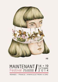 Maintenant festival poster