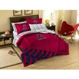 "Los Angeles Angels 5 Pc TWIN Comforter Set PLUS a Los Angeles Angels ""Triple Play"" Micro Raschel Throw (45""x60"") - Entire Set Includes: (1 Comforter, 1 Flat Sheet, 1 Fitted Sheet, 1 Pillow Case, 1 Sham, 1 ""Triple Play"" Micro Raschel Throw) SAVE BIG ON BUNDLING! Northwest http://www.amazon.com/dp/B00EF4169G/ref=cm_sw_r_pi_dp_kB7Qtb0P3SW1G7D7"