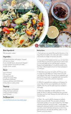 Orzo Salad - Vegan