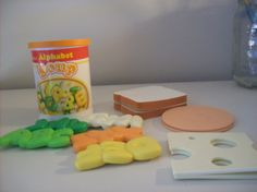 Vintage Fisher Price Soup and Sandwich Set